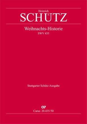 Weihnachts Historie SWV 435. Conducteur - SCHUTZ - laflutedepan.com