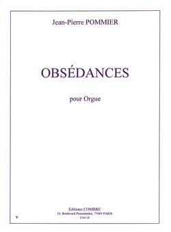 Jean Pierre Pommier - Obsédances - Sheet Music - di-arezzo.com