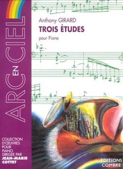 3 Etudes - Anthony Girard - Partition - Piano - laflutedepan.com