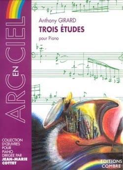 Anthony Girard - 3 Studies - Sheet Music - di-arezzo.com