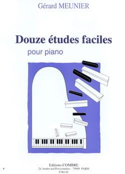 Gérard Meunier - 12 Easy Studies - Sheet Music - di-arezzo.com