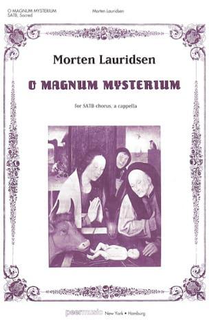 O Magnum Mysterium Morten Lauridsen Partition Chœur - laflutedepan
