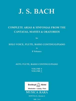 Complete arias from the cantatas, masses, oratorios Volume 5 laflutedepan