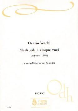 Vecchi - Madrigali A 5 Voci - Partition - di-arezzo.fr