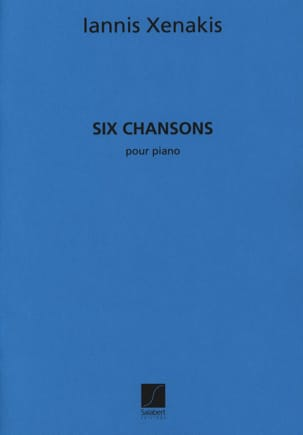 Iannis Xenakis - 6 Songs - Sheet Music - di-arezzo.com