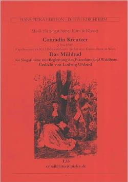 Conrad Kreutzer - Das Mühlrad - Partition - di-arezzo.fr