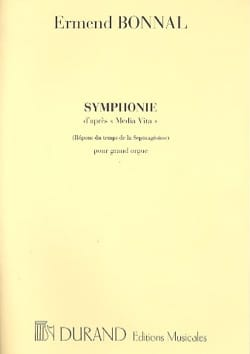 Symphonie Ermend Bonnal Partition Orgue - laflutedepan