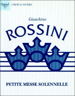 Gioachino Rossini - Small Solemn Mass - Sheet Music - di-arezzo.com