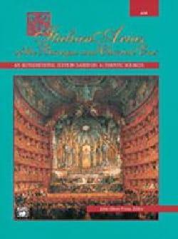 Italian Arias. Voix Grave - Partition - di-arezzo.fr