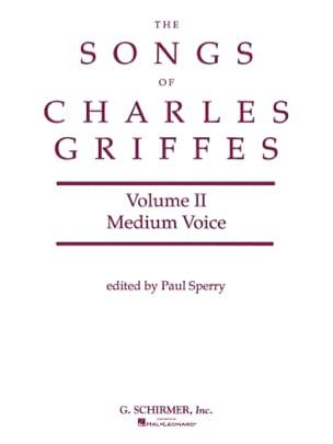 Songs Vol 2. Vx Moyenne - Charles Griffes - laflutedepan.com