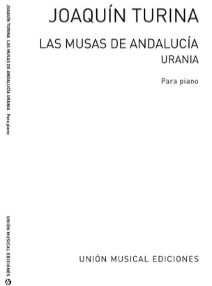 Urania Op. 93-7 TURINA Partition Piano - laflutedepan