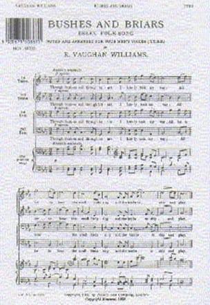 Bushes And Briars - Williams Ralph Vaughan - laflutedepan.com