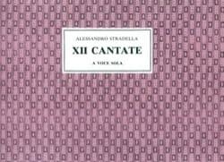 12 Cantates A Voce Sola Alessandro Stradella Partition laflutedepan