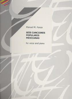 6 Canciones Populares Mexicanas Manuel Ponce Partition laflutedepan