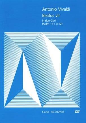 Beatus Vir RV 597 - Antonio Vivaldi - Partition - laflutedepan.com