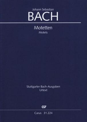 BACH - Motets - Partition - di-arezzo.fr