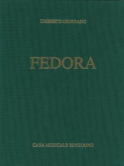Umberto Giordano - Fedora - Sheet Music - di-arezzo.co.uk
