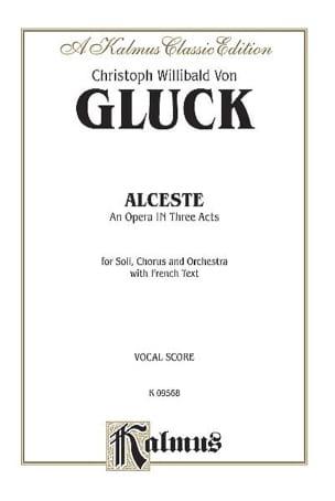 GLUCK - Alceste - Sheet Music - di-arezzo.com