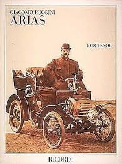 Giacomo Puccini - Arias For Tenor - Sheet Music - di-arezzo.com