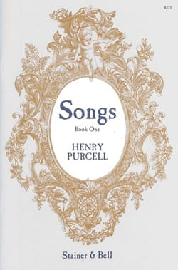 Henry Purcell - Songs Book 1 - Partition - di-arezzo.fr