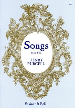 Songs Book 2 - PURCELL - Partition - Mélodies - laflutedepan.com