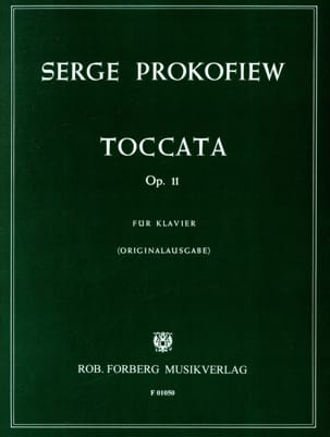 Sergei Prokofiev - Toccata Opus 11 Piano - Sheet Music - di-arezzo.co.uk