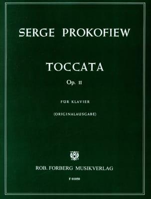 Sergei Prokofiev - Toccata Opus 11 Piano - Partition - di-arezzo.fr