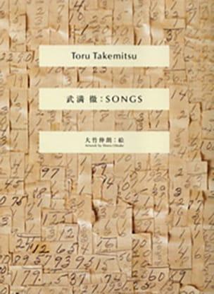 Toru Takemitsu - 歌 - 楽譜 - di-arezzo.jp