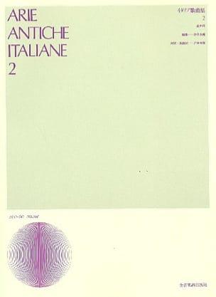 Arie Antiche Italiane Volume 2. Voix Haute - laflutedepan.com