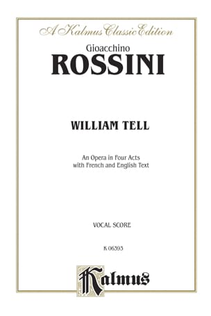 Gioachino Rossini - Guillaume Tell - Sheet Music - di-arezzo.co.uk