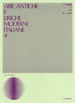 - Arie Antiche E Liriche Moderne Italiane Volume 4. Mean Voice - Sheet Music - di-arezzo.co.uk