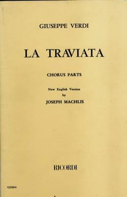 La Traviata Choeur VERDI Partition Chœur - laflutedepan