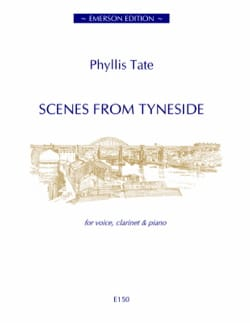 Scènes From Tyneside Phyllis Tate Partition Clarinette - laflutedepan