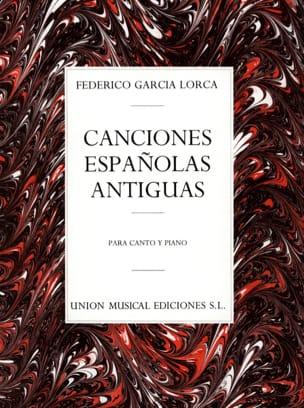 Lorca Federico Garcia - 12 Canciones Españolas Antiguas - Partitura - di-arezzo.es