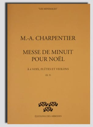 Marc-Antoine Charpentier - Midnight Mass For Christmas H 9. Driver - Sheet Music - di-arezzo.com