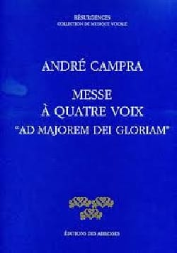 André Campra - Mass Ad Majorem Dei Gloriam - Sheet Music - di-arezzo.co.uk