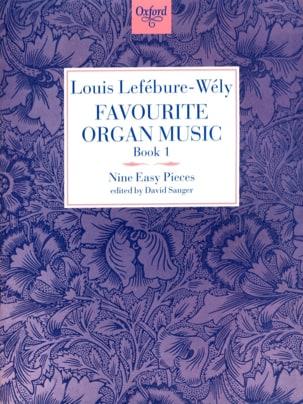 Favourite Organ Music Volume 1 LEFÉBURE-WÉLY Partition laflutedepan