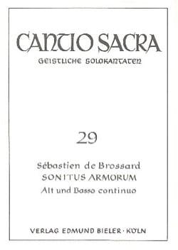 Sonitus Armorum - Sébastien de Brossard - Partition - laflutedepan.com