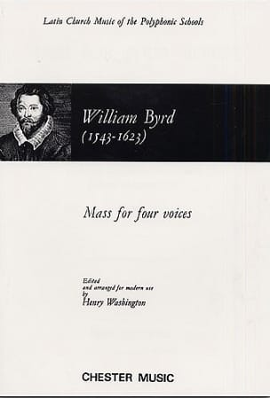 Willam Byrd - Messe A 4 Voix - Partition - di-arezzo.fr