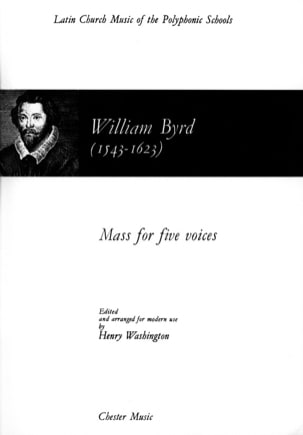 Willam Byrd - Messe A 5 Voix - Partition - di-arezzo.fr