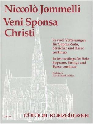 Veni Sponsa Christi - Niccolo Jommelli - Partition - laflutedepan.com