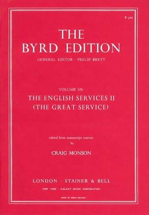 Willam Byrd - The English Service Vol 2 - Partition - di-arezzo.fr
