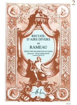 Jean-Philippe Rameau - Collection of Various tunes. Baritone and Bass - Sheet Music - di-arezzo.com