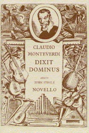 Dixit Dominus MONTEVERDI Partition Chœur - laflutedepan