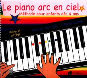 Le Piano Arc en Ciel Partition Piano - laflutedepan
