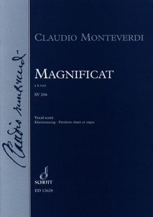 Magnificat Sv 206 - Claudio Monteverdi - Partition - laflutedepan.com