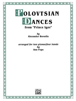 Alexandre Borodine - Polovtsian Dances. 2 Pianos - Sheet Music - di-arezzo.co.uk