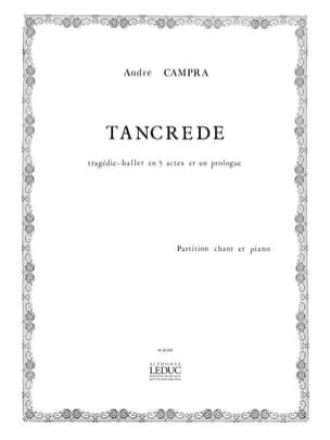André Campra - Tancrède - Partition - di-arezzo.fr