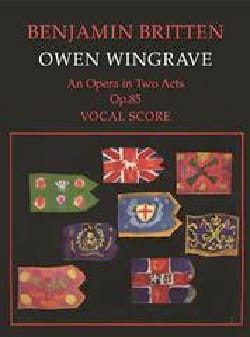 Benjamin Britten - Owen Wingrave Op. 85 - Partition - di-arezzo.fr