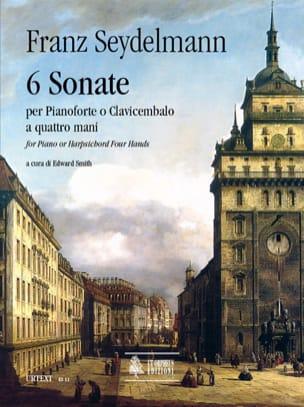 Franz Seydelmann - 6 Sonate A 4 Mani - Partition - di-arezzo.fr